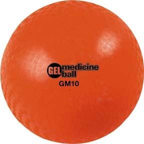 Olympia Sports BE779P Gel Filled Medicine Ball - 15 lbs.