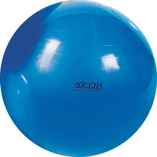 Olympia Sports BL308P Gymnic Classic Exercise Ball - 65cm-26 in. Dia. - Blue