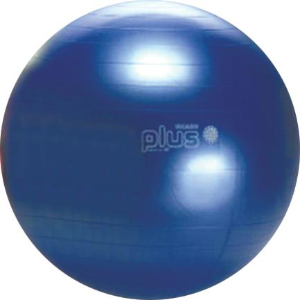 Olympia Sports BL314P Gymnic Plus Exercise Ball - 65cm-26 in. Dia. - Blue