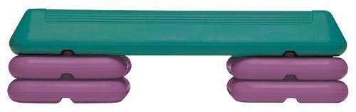 Olympia Sports GA483P Circuit Step - Teal & Purple