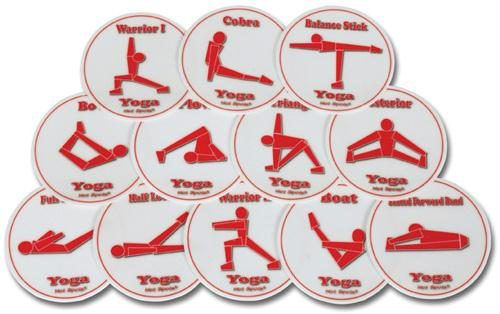 Olympia Sports GE692P Set of 12 Hot Spots- Yoga Spots