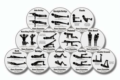 Olympia Sports GE694P Set of 12 Hot Spots- Core
