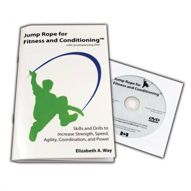 Olympia Sports JR120P Jump Rope for Fitness & Conditioning Book & DVD