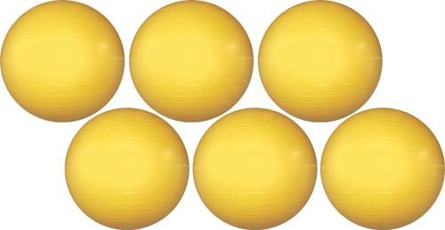 Olympia Sports KT168P 18 in. Therapy-Exercise Ball Value Pack