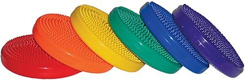Olympia Sports PS628P Six-Color Wobble Disc Set