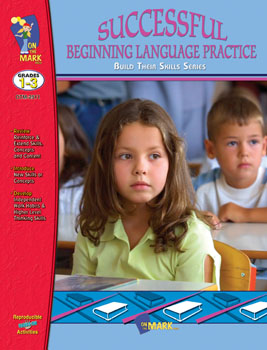 On The Mark Press OTM2511 Successful Language Prac Gr. 1-3