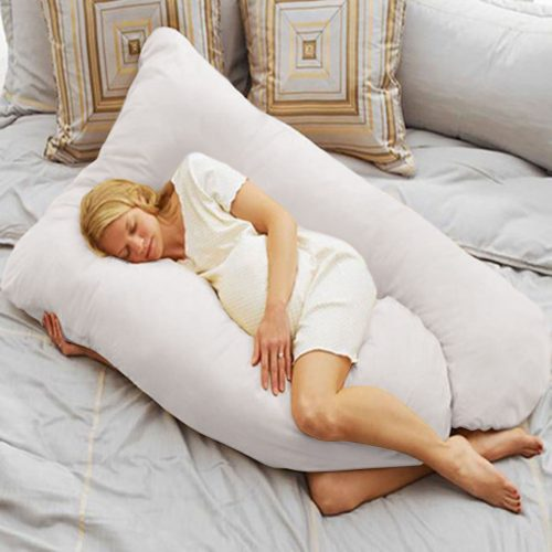 Online Gym Shop CB17069 U Shape Body Pillow Pregnancy Comfort Support Cushion