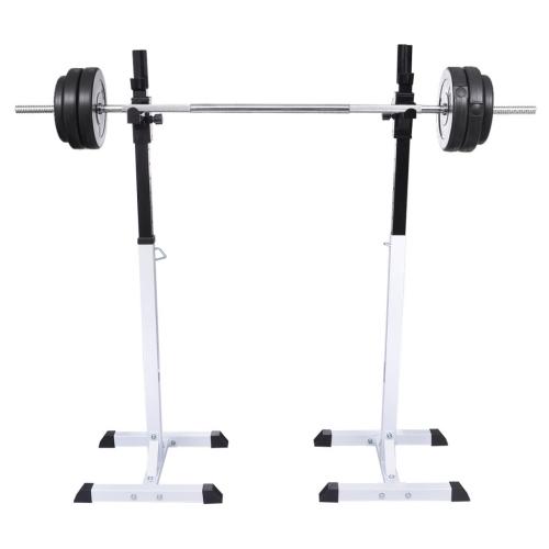 Online Gym Shop CB19020 Home Gym Workout Squat Barbell Rack Set