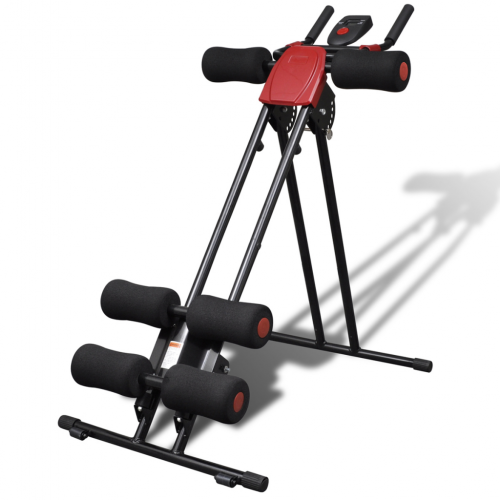 Online Gym Shop CB19086 Fitness Exercise Foldable Core & Abdominal Trainer with Display