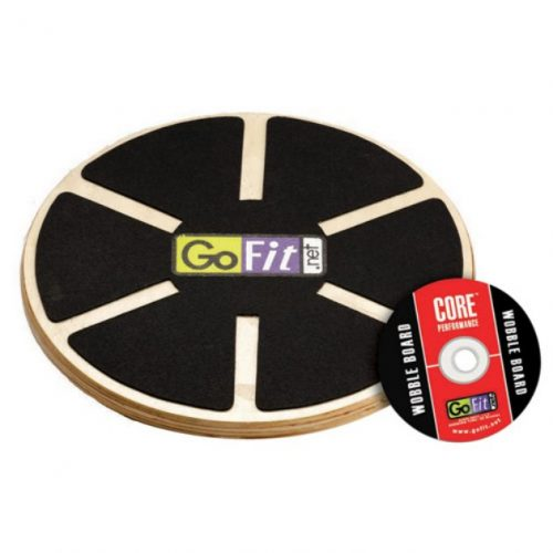 Online Gym Shops CB1559 GoFit Ultimate 15 Inch Adjustable Round Wood Balance Board