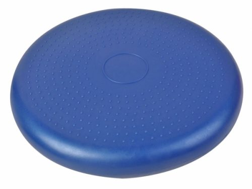 OnlineGymShop CB16454 14 in. Yoga Fitness Balance Cushion Disc Improve Balance & Flexibilty Blue
