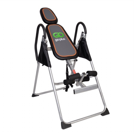 OnlineGymShop CB16842 Gravity Inversion Table Foldable Therapy Back Premium