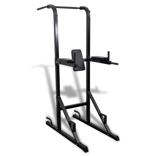 OnlineGymShop CB19098 Home Gym Exercise Power Tower All-in-One Press Chest Shoulder Fitness Station