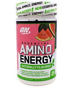 Optimum Nutrition 2730596 Amino Energy Natural Watermelon - 25 Servings