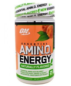 Optimum Nutrition 2730597 Amino Energy Natural Peach Tea - 25 Servings