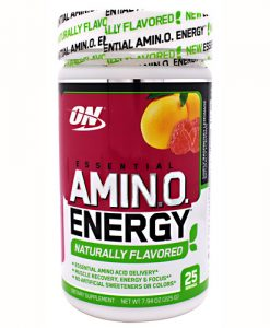 Optimum Nutrition 2730598 Amino Energy Natural Raspberry Lemonade - 25 Servings