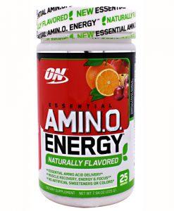 Optimum Nutrition 2730599 Amino Energy Natural Fruit Punch - 25 Servings