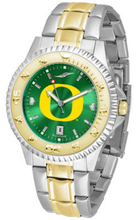Oregon Ducks Competitor AnoChrome Two Tone Watch