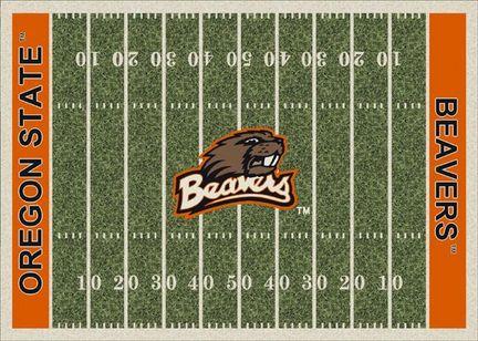 "Oregon State Beavers 3' 10"" x 5' 4"" Home Field Area Rug"