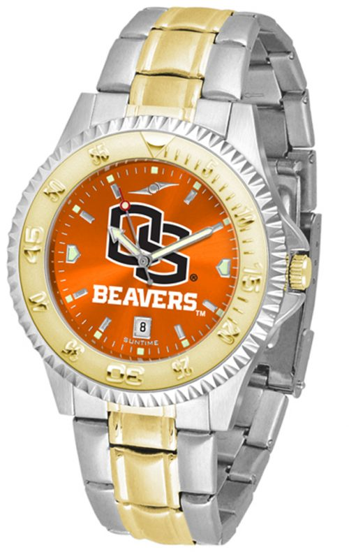 Oregon State Beavers Competitor AnoChrome Two Tone Watch