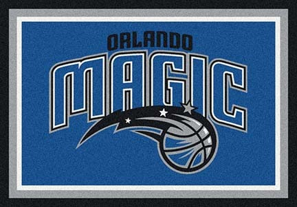 "Orlando Magic 3' 10"" x 5' 4"" Team Spirit Area Rug"