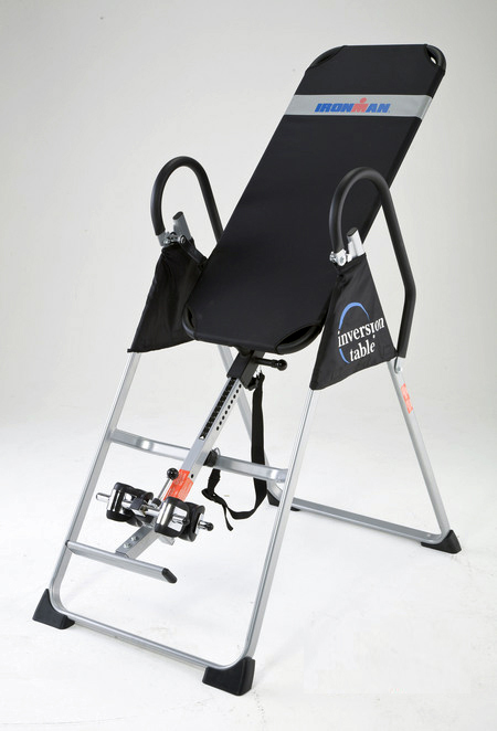 Paradigm Health and Wellness 5201 Ironman Endurance 100 Inversion Table with a Durable Tubular Steel Frame