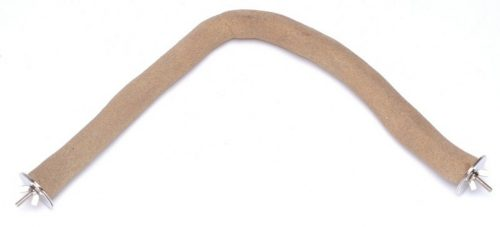 Parrotopia CCM Curved Corner Perch 14 Inch Medium 1 Inch to 1.5 Inch