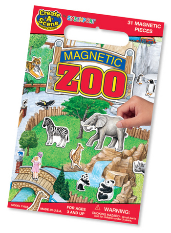 Patch Products 7102 Create-A-Scene - Zoo
