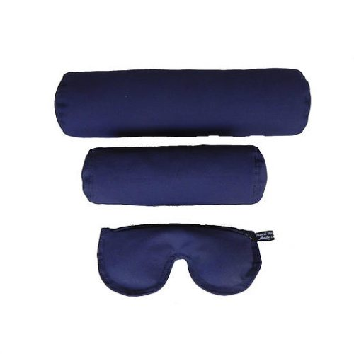 Peach Blossom Yoga 11002 3 Piece Meditation Kit For Yoga - Indigo