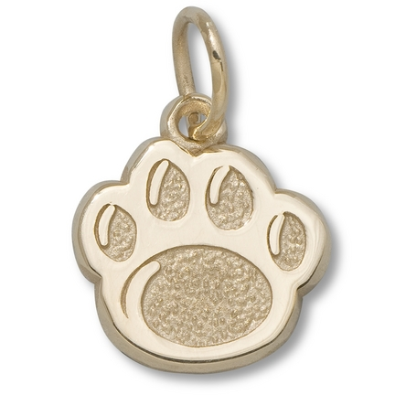 "Penn State Nittany Lions 3/8"" Lion Paw Charm - 10KT Gold Jewelry"