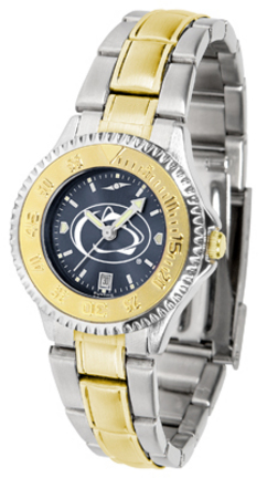 Penn State Nittany Lions Competitor AnoChrome Ladies Watch with Two-Tone Band