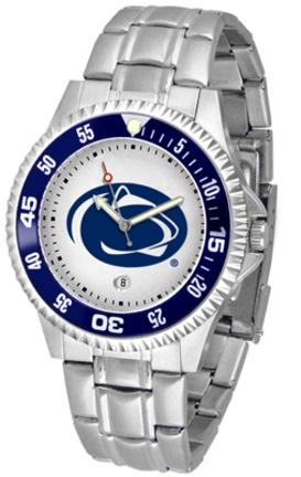 Penn State Nittany Lions Competitor Watch with a Metal Band