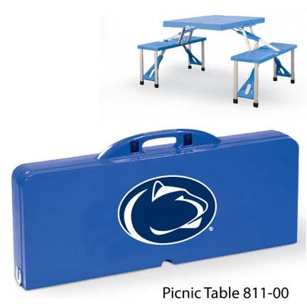 Penn State Nittany Lions Portable Folding Table and Seats