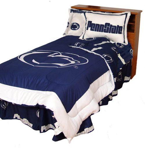 Penn State Nittany Lions Reversible Comforter Set (King)