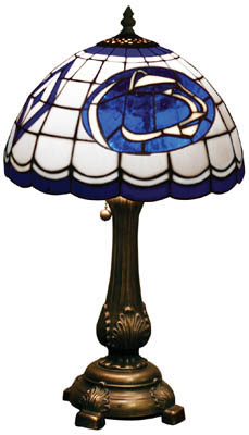 Penn State Nittany Lions Stained Glass Table Lamp