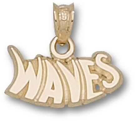 "Pepperdine Waves ""Waves"" Pendant - 10KT Gold Jewelry"