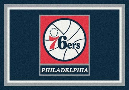 "Philadelphia 76ers 3' 10"" x 5' 4"" Team Spirit Area Rug"