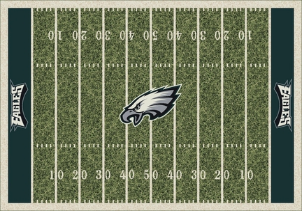 "Philadelphia Eagles 3' 10"" x 5' 4"" Home Field Area Rug"