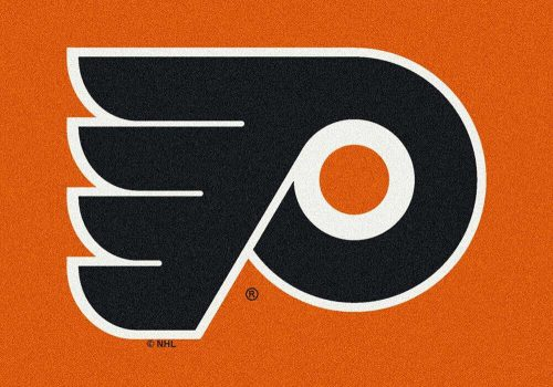 "Philadelphia Flyers 3' 10"" x 5' 4"" Team Spirit Area Rug"