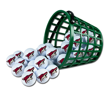 Phoenix Coyotes Golf Ball Bucket (36 Balls)