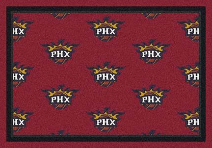"Phoenix Suns 2' 1"" x 7' 8"" Team Repeat Area Rug Runner"