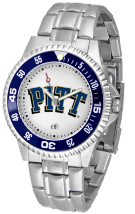 Pittsburgh Panthers Competitor Watch with a Metal Band