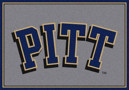 "Pittsburgh Panthers ""Pitt"" 3'10""x 5'4"" Team Spirit Area Rug"