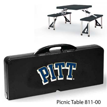 Pittsburgh Panthers Portable Folding Table and Seats