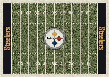 "Pittsburgh Steelers 3' 10"" x 5' 4"" Home Field Area Rug"