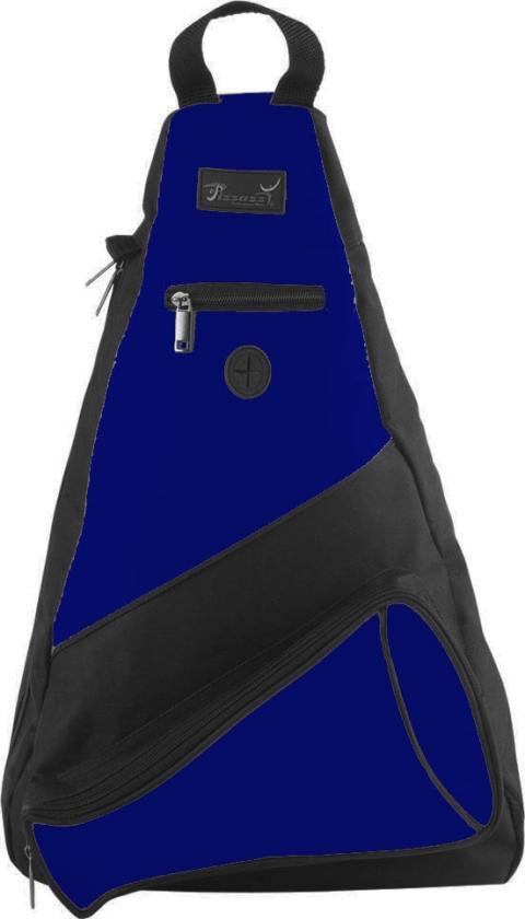 Pizzazz Performance Wear SL50 -NAV -L SL50 Megaphone Sling Pack - Navy - Large
