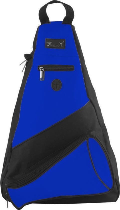 Pizzazz Performance Wear SL50 -ROY -L SL50 Megaphone Sling Pack - Royal - Large