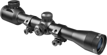 Plinker-22 4x32 Riflescope with 30/30 Illuminated Reticle