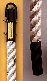 Polyplus Climbing Rope with Polyboot End - 18 Feet Long