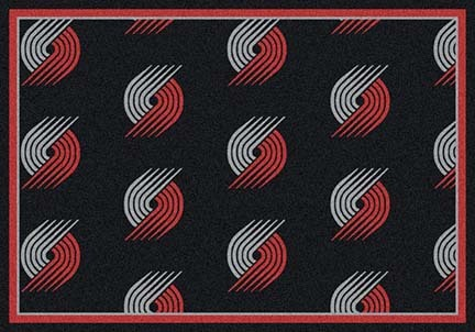 "Portland Trail Blazers 2' 1"" x 7' 8"" Team Repeat Area Rug Runner"